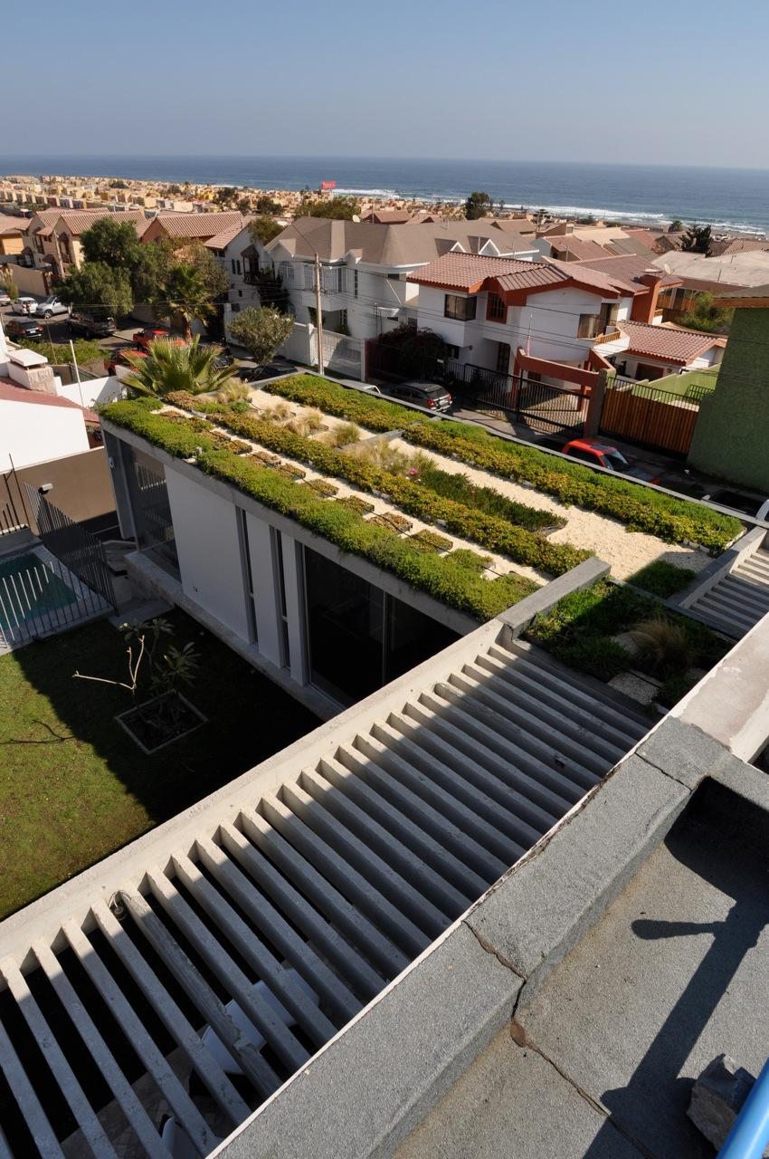 Casa YM_Techo Verde
